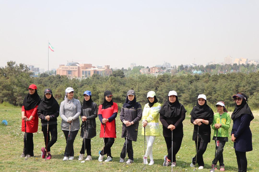 برگزاري مسابقه آزاد گلف كشوري بانوان