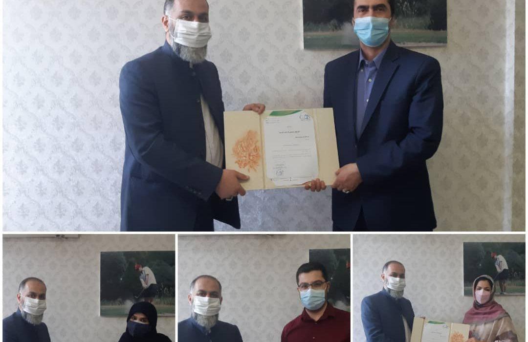 احکام جديد کميته هاي مختلف هيات گلف استان تهران صادر شد