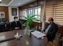 ديدار دکتر عزيزي با معاون توسعه ورزش قهرمانی و حرفهای وزارت ورزش
