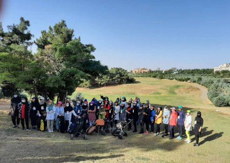 نفرات برتر مسابقه گلف آزاد کشوري بانوان مشخص شدند