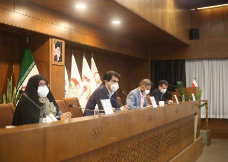 برگزاری مجمع عمومی گلف سال 1399 در محل آکادمی کمیته ملی المپیک