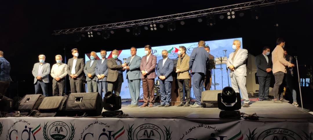 نفرات و تیمهای برتر مسابقات قهرمانی گلف کشور مشخص شدند