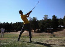 گزارش تصویری روز اول مسابقات گلف قهرمانی کشور / مهر 1400